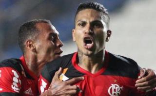Guerrero le anotó gol a Corinthians y celebró de forma efusiva