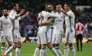 Real Madrid venció 2-1 al Bilbao y es líder de la Liga Española