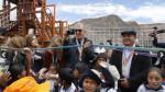 Testino y modelos internacionales inauguraron parque en Cusco - Noticias de valeria mazza