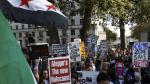 Londres: Miles protestan contra los bombardeos en Alepo - Noticias de carey mulligan