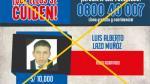 Callao: detienen a dos delincuentes del programa de recompensas - Noticias de rodrigo iniguez cuadra