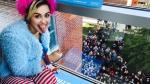 Miley Cyrus visitó universidad para pedir que voten por Clinton - Noticias de seung wuk lee