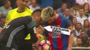 Messi: ¿Qué le dijo Alves antes que pateara el penal? [VIDEO]