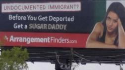 """La página de citas que incita a buscar un """"novio rico"""" en Texas"""
