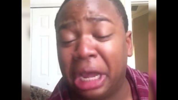 Facebook: llora y le pide a su madre no ponerlo a dieta [VIDEO]