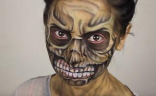 """El maquillaje de horror inspirado en """"The Walking Dead"""" [VIDEO]"""