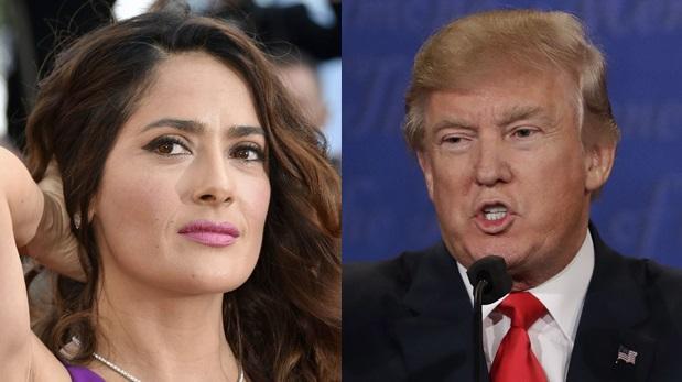Salma Hayek reveló que fue acosada por Donald Trump