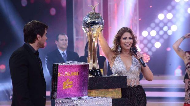 Rosángela Espinoza se coronó campeona de