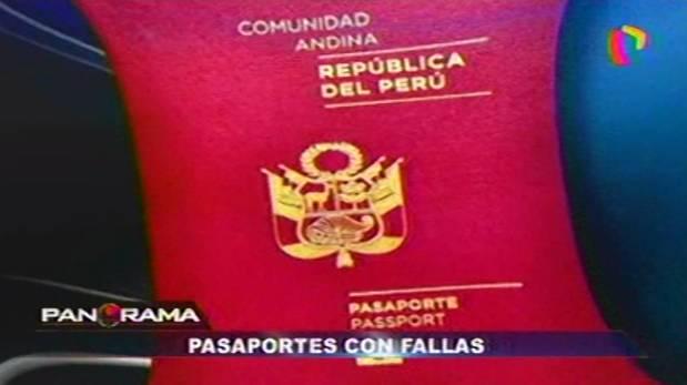 Pasaportes biométricos: denuncian que tienen estos errores