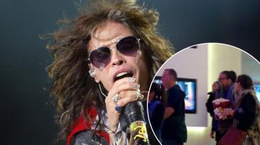 Aerosmith en Perú: Steven Tyler sorprendió en un cine limeño