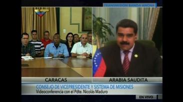 Maduro: No me pierdo ni un segundo de lo que pasa en Venezuela