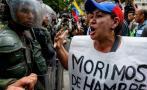 """Oposición pide tomar Venezuela """"el tiempo que haga falta"""""""