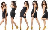 Ideas para crear distintos looks con un clásico vestido negro