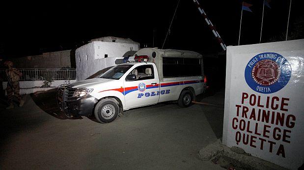 Ningún grupo reivindicó por ahora el ataque al Colegio de policías en Pakistán. (Foto: Reuters)