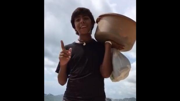 YouTube: vendedor de empanadas se vuelve viral por este video