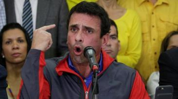 Capriles niega el inicio de un diálogo en Venezuela