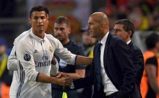 """Zidane sobre sequía de Cristiano: """"Dentro de poco las meterá"""""""