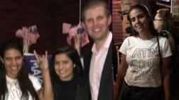 EE.UU.: Latinas le jugaron broma al hijo de Donald Trump