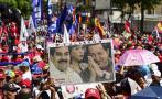 Venezuela: Miles recibieron a Maduro tras gira internacional