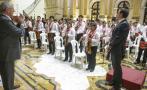 PPK recibió en Palacio a niños de orquesta sinfónica [FOTOS]