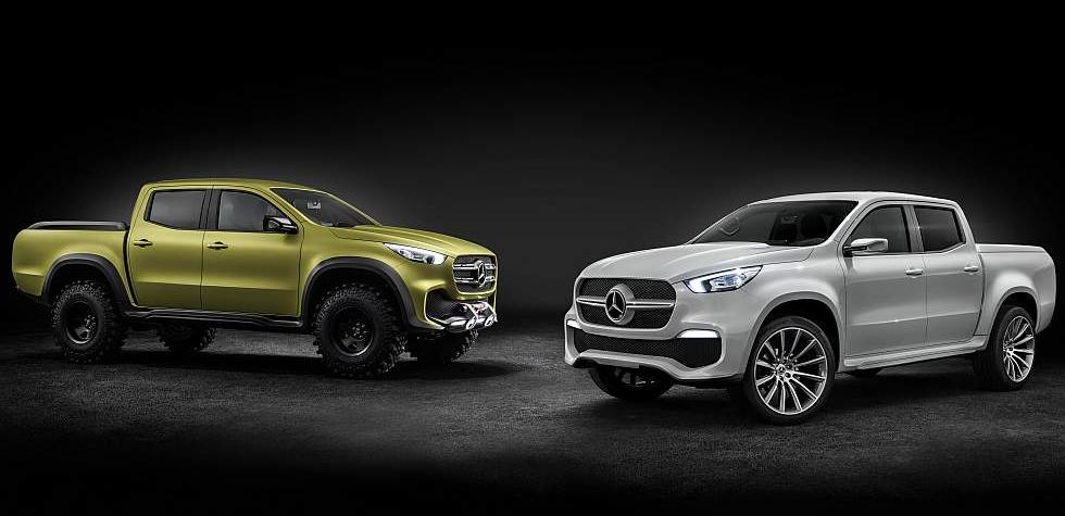 Clase X: Así es la primera pick-up de Mercedes-Benz [FOTOS]
