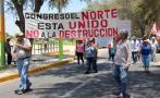 Propietarios de casas de playas de Piura marchan contra la SBN