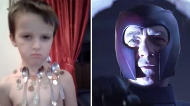 Facebook: Erman Delic, el niño que tiene poderes de 'Magneto'