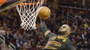 Cavaliers vencieron a Knicks con gran actuación de LeBron James
