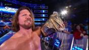 WWE SmackDown Live: Dean Ambrose no pudo con AJ Styles