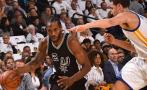 Spurs aplastaron a Warriors 129 a 100 en arranque de la NBA
