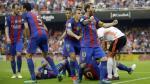 Barcelona: reprochan actitud de jugadores culés tras botellazo - Noticias de multa