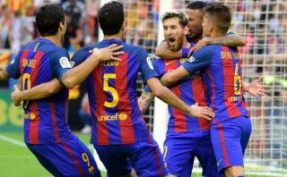 Barcelona y la dura respuesta en defensa de sus futbolistas