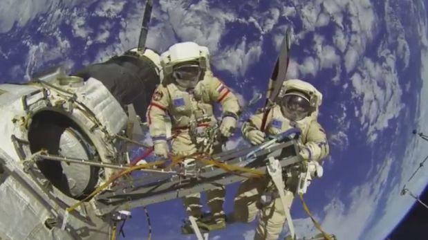 NASA desmintió transmisión de caminata espacial por Facebook