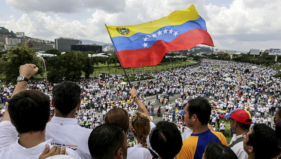 """Toma de Venezuela"": impactantes postales de la marcha"