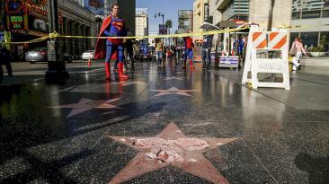 Donald Trump: Su estrella del Paseo de la Fama fue destruida