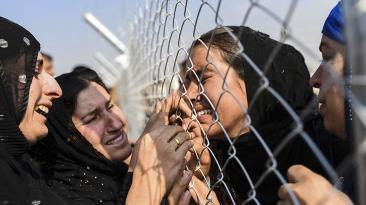 El día en fotos: Trump, Venezuela, Siria, Calais y más