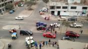 Comas: vecinos piden semáforo en cruce para evitar más choques