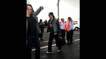 Guns N' Roses: la banda ya se encuentra en Lima [FOTOS]