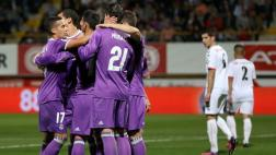 Real Madrid arrasó con Cultural Leonesa: le ganó 7-1