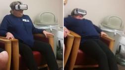 YouTube: madre sintió pavor al usar gafas de realidad virtual