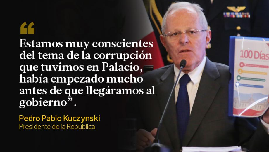 A 100 días de gobierno: el balance de PPK y Zavala en frases