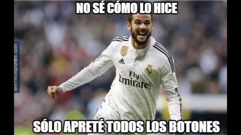 Real Madrid goleó en la Copa del Rey pero fue víctima de memes. (Foto: Internet)