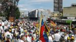 """""""Toma de Venezuela"""": imágenes de la protesta en redes sociales - Noticias de roberto enriquez"""