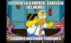 Universitario vs. San Martín: memes del épico empate de cremas