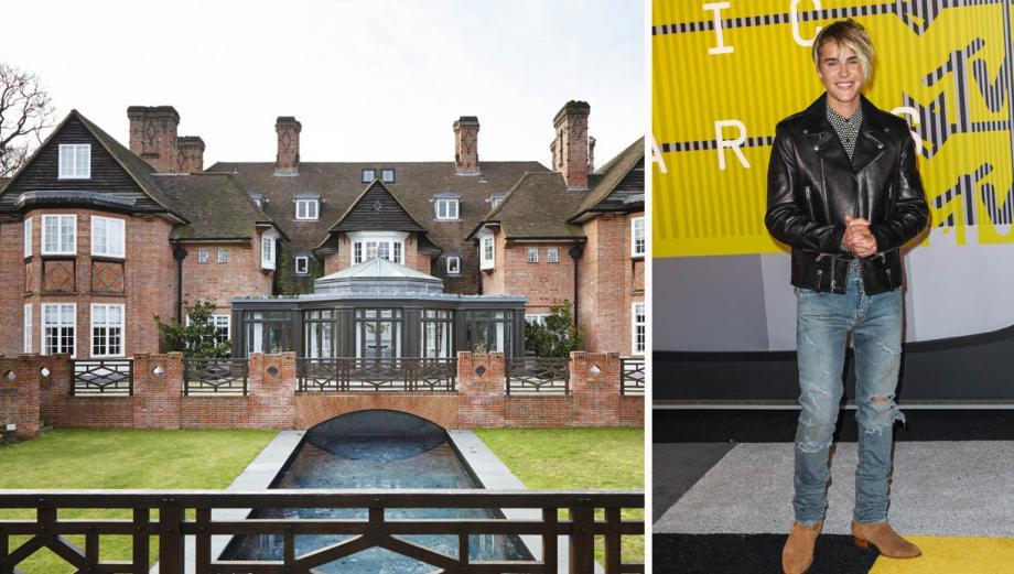 La lujosa mansión que Justin Bieber alquilará en Londres