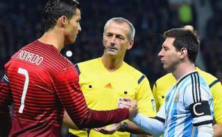 Cristiano Ronaldo explicó así su rivalidad con Lionel Messi