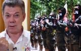 Colombia: Presidente Santos suspende diálogo de paz con el ELN
