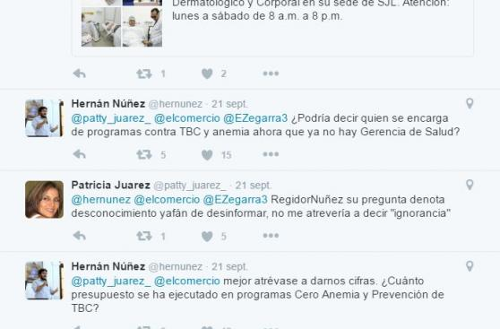 Concejo limeño evalúa sanción contra Hernán Núñez por este tuit