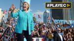 Hillary Clinton pasó su cumpleaños haciendo campaña en Florida - Noticias de donald trump