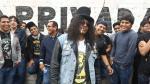 Guns N' Roses: así se vive la previa afuera del Monumental - Noticias de axl roses